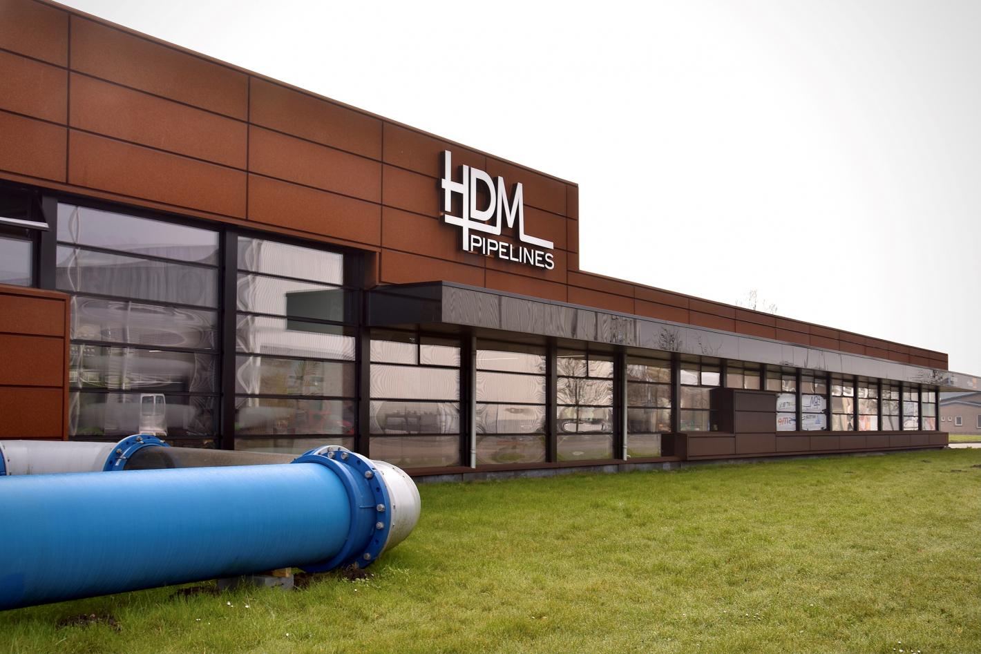 hdm pipelines pand leeuwarden